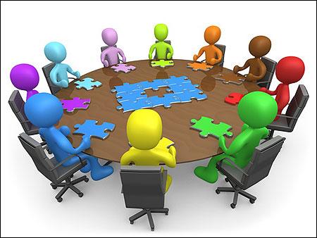 Resultado de imagen de dibujos de reuniones reuniones de ampas
